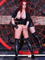 Mistress Jemstone snaring Sarah Kelly into her web to punish