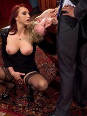 Nikki Hunter, host of Playboy Radio Night Calls The ULTIMATE Cuckoldress!
